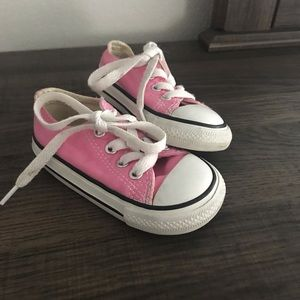 Toddler girl size 5 Converse